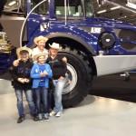 """Baumaschinenmesse Bern 2014 oder  """"über 40 Jahre Volvo Dumper """""""